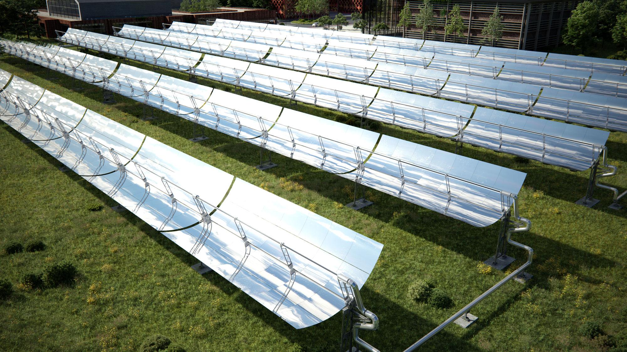 Concentrated Solar Power, ook haalbaar in Vlaanderen?