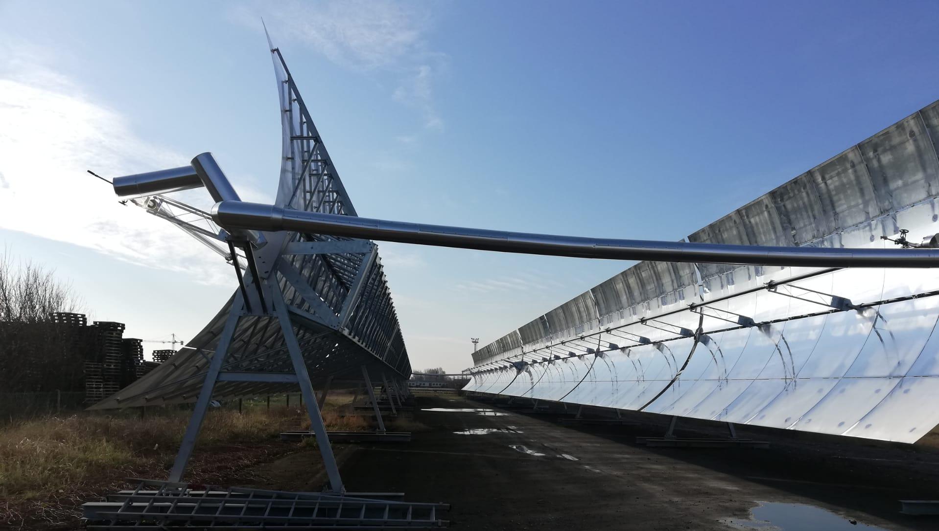 Duits centrum voor luch- en ruimtevaart onderschrijft zonnespiegels