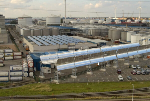 The First Arrival of Solar Plants in Flanders